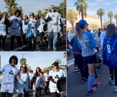 Images of Check Your Cheeks Team at Undy Run Walk 2018